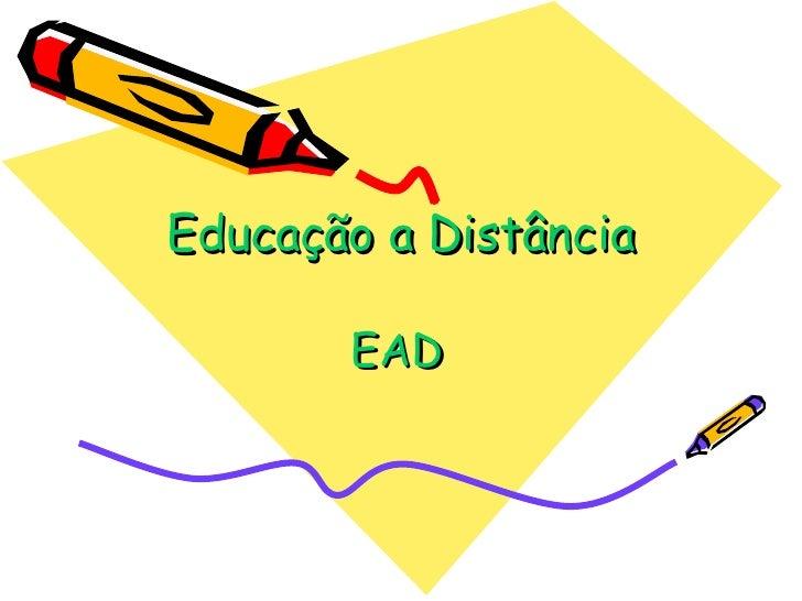 Educação a Distância EAD