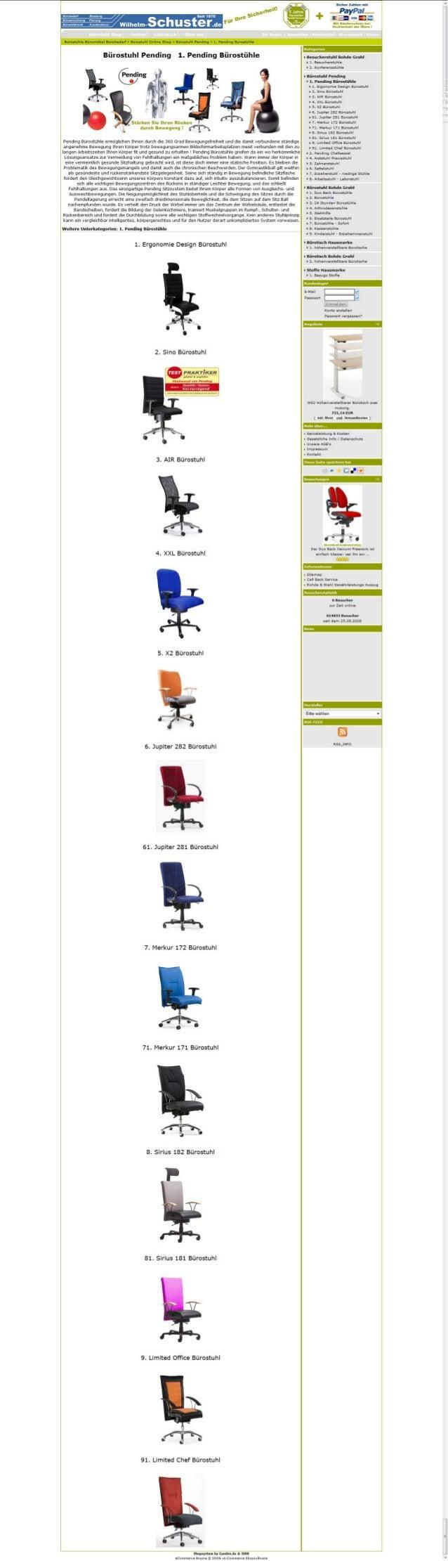 Kaufen Bürostuhl Stoffe Farben