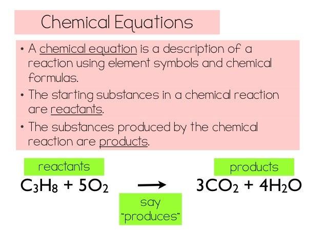 a description of a chemical reaction Description: chemical reaction engineering definition view more chemical reaction engineering (reaction engineering or reactor engineering) is a specialty in.
