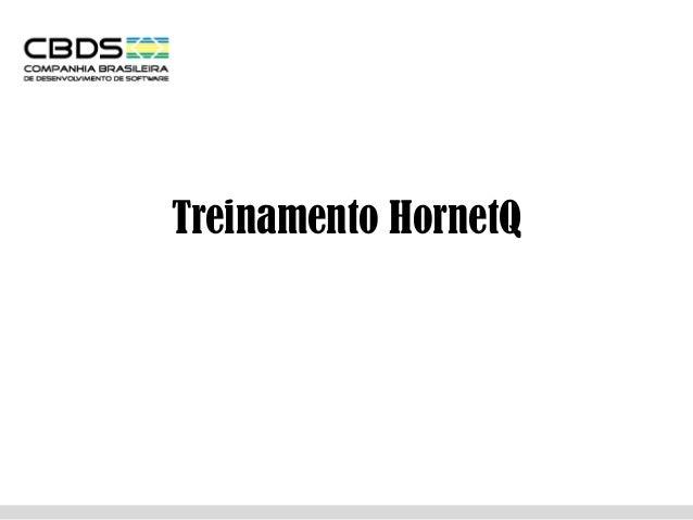 Treinamento HornetQ