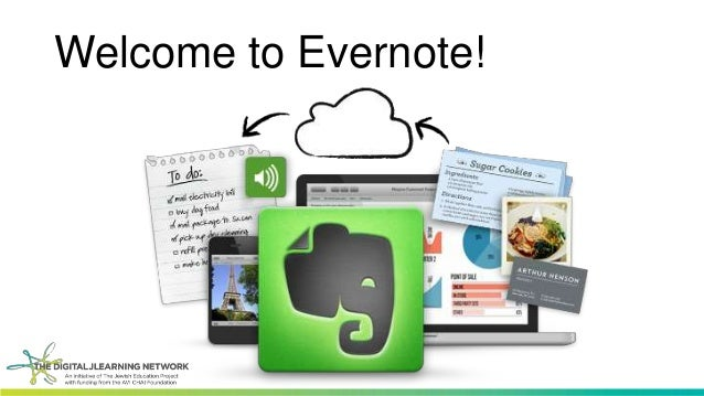 Welcome to Evernote!