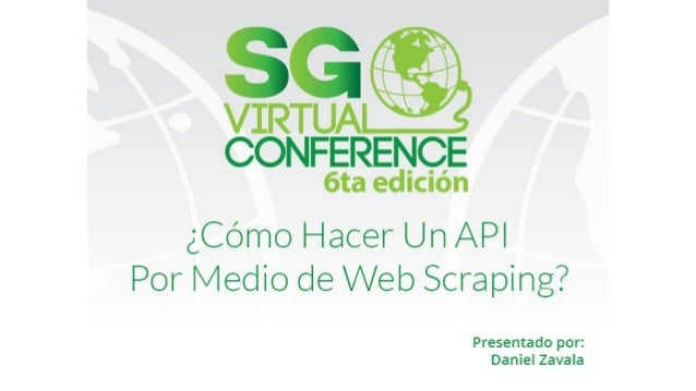 ¿Que es web scraping? Web scraping is a computer software technique of extracting information from websites.