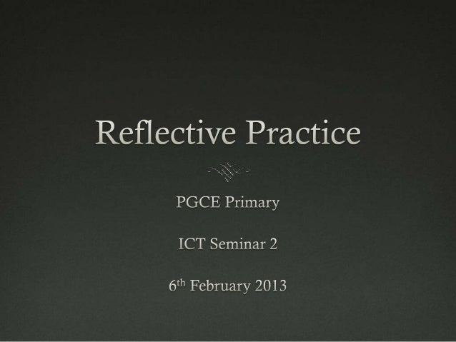 The seminarThe aim of this session is to enhance your reflection on your evaluations make explicit links to theory and r...