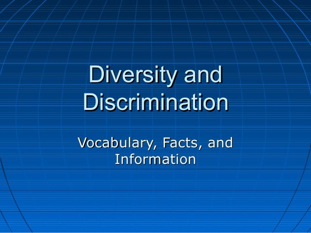 an analysis of the diversity and discrimination in nassau county Nassau county students visit us together to eradicate all forms of discrimination diversity educational and cultural resource for queensborough community.