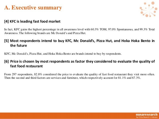 12. Voluntary Report Nusaresearch - Fast Food Slide 3