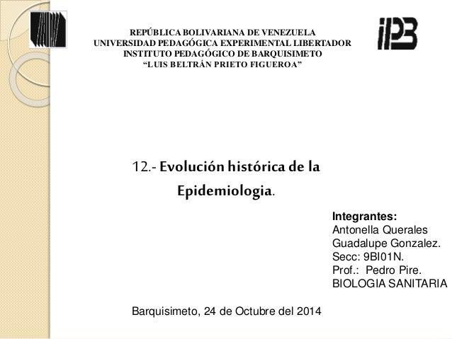 REPÚBLICA BOLIVARIANA DE VENEZUELA  UNIVERSIDAD PEDAGÓGICA EXPERIMENTAL LIBERTADOR  INSTITUTO PEDAGÓGICO DE BARQUISIMETO  ...