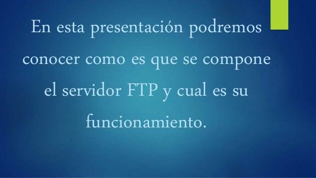 12. servidor ftp Slide 3