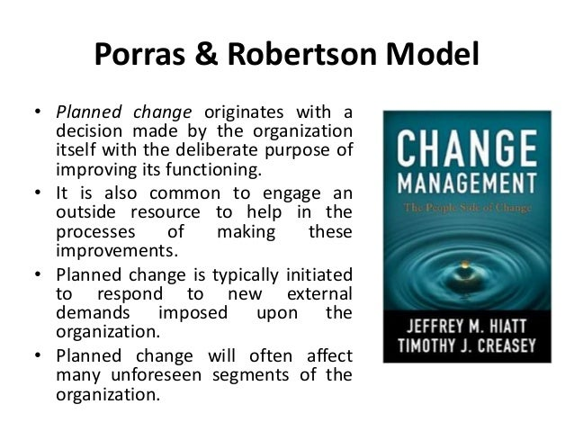 first order change in organizational system Chapter 4 foundations of organizational change 71  the organization-as-system model has evolved from  ing work practices is an example of first-order change,.