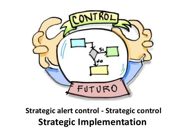 strategic control Historically, strategy consulting and strategic planning have been big business companies have spent a lot over the years on sophisticated, high-brow strategic consulting for a long time, consultants were the strategy high-priests of business.