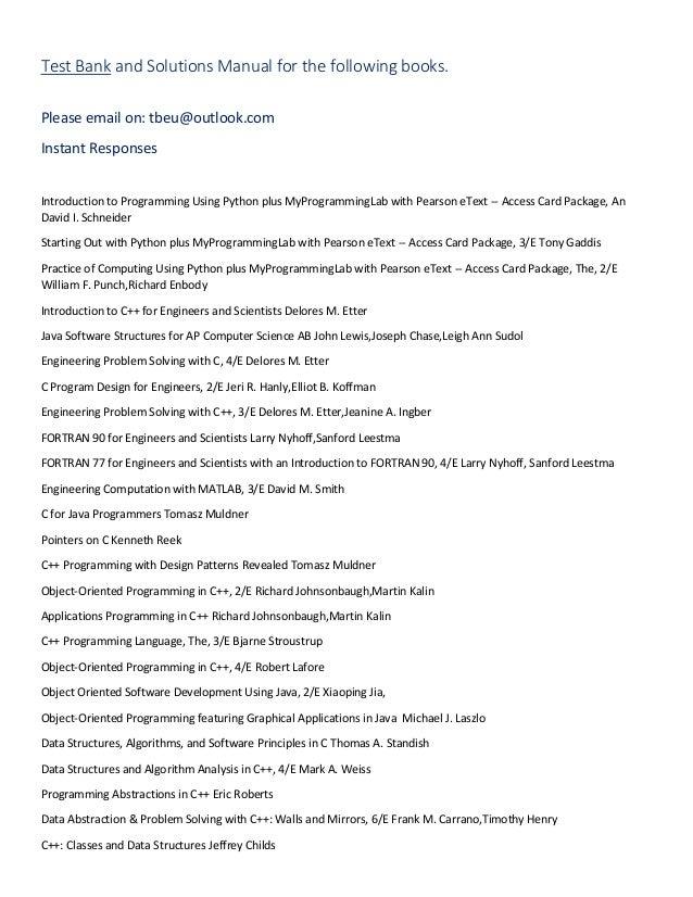 test bank and solutions manual rh slideshare net Multiplication Algorithm Algorithm Clip Art