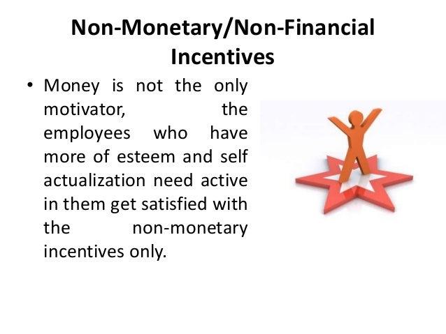hr monetary and non monetary incentives