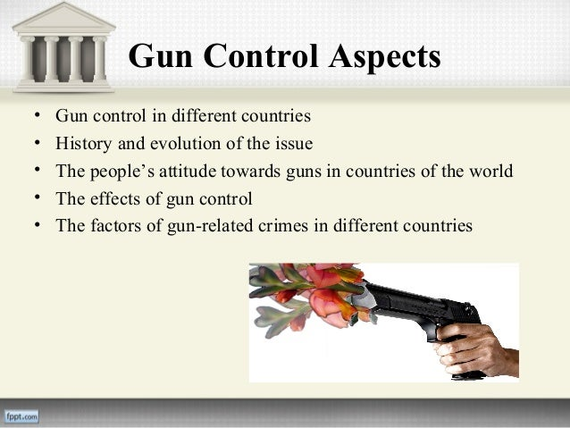 essay about gun control laws Gun control essays occur ever more often in the curriculum, given the actuality of the topic how to prepare yourself for writing such essays.