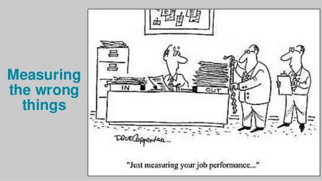 Do performance management systems measure the right things