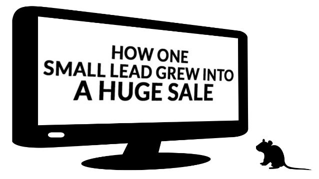 How One Small Lead Grew Into A Huge Sale