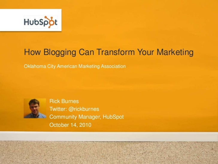 How Blogging Can Transform Your Marketing