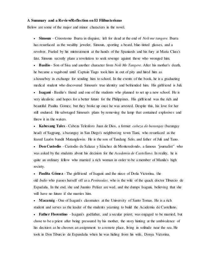 EL FILIBUSTERISMO SUMMARY EPUB DOWNLOAD