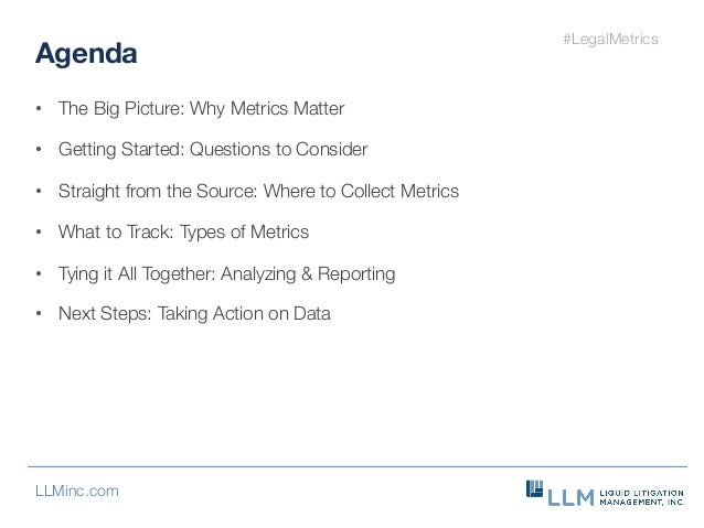 A Call to Action: Making Your Legal Metrics Count Slide 3