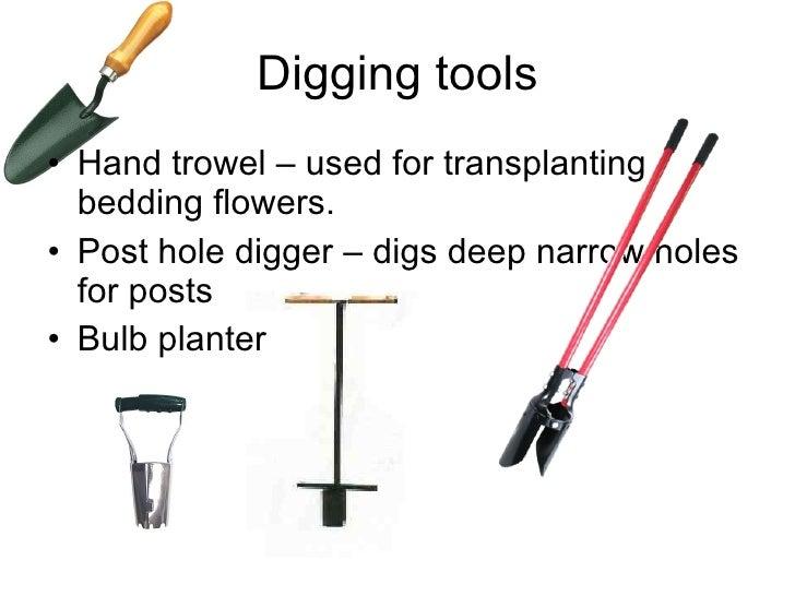 12 16 Digging Tools