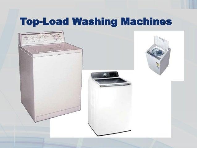 types of washing machine