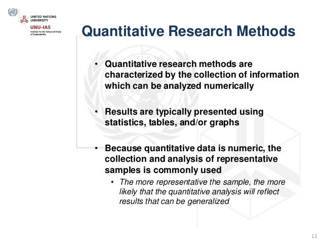 quantitative research data analysis methods Quantitative methods program overview faculty in the quantitative methods (qm) program train students in state-of-the-art statistical methods and engage in research that develops and applies such methods.