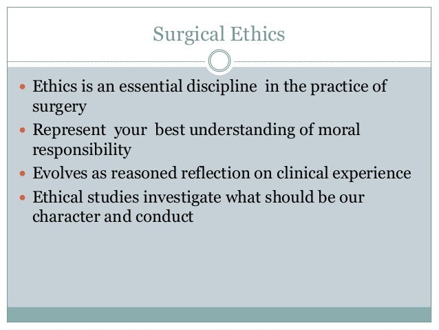 Legal and ethical issues in robotic surgery.