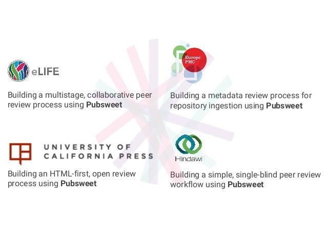 Building a metadata review process for repository ingestion using Pubsweet Building a simple, single-blind peer review wor...