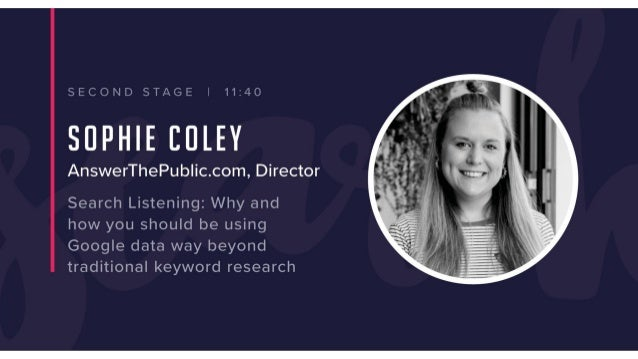 Consumers don't tell us (marketers) what they want… (what they really, really want) #SEARCHLEEDS@SEARCHLISTENING @COLEYBIRD