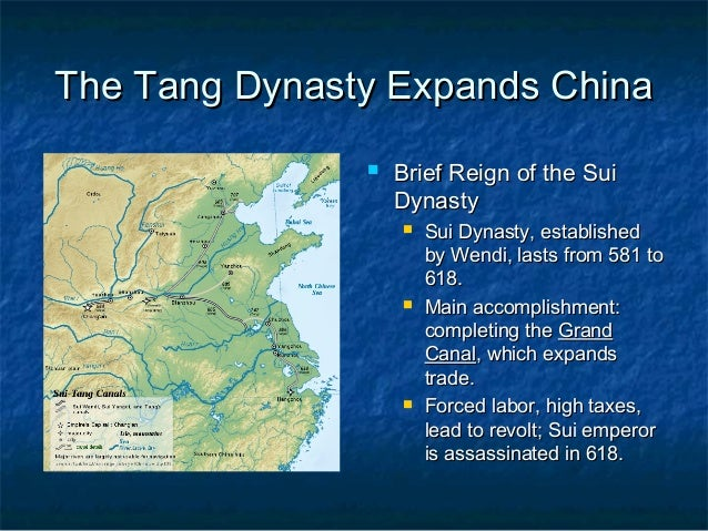 An analysis of the chinese pottery during the tang dynasty