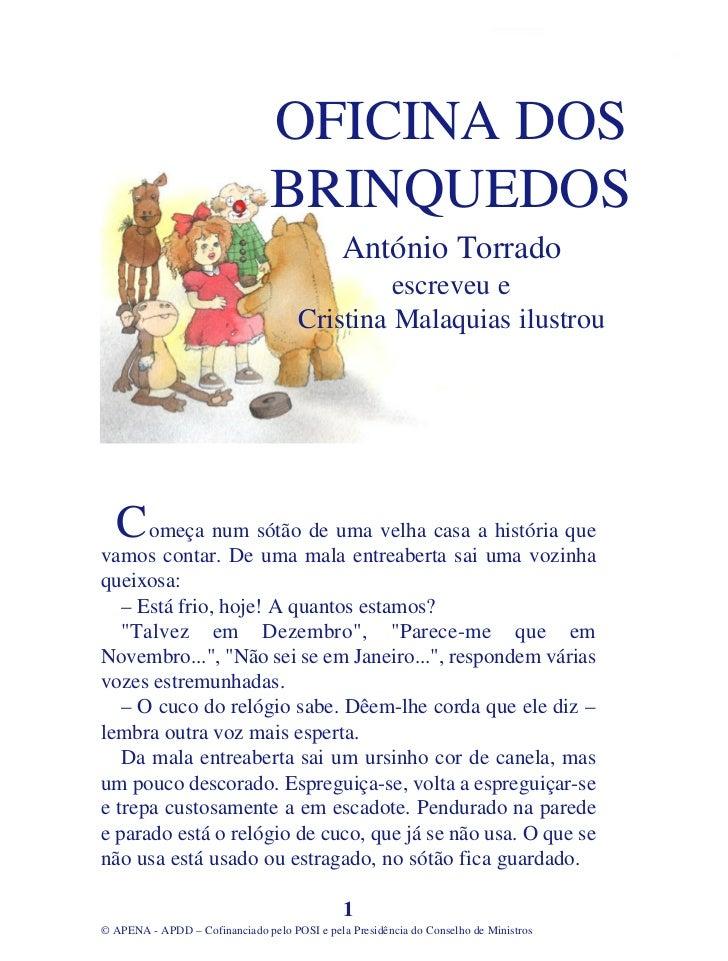 OFICINA DOS                                BRINQUEDOS                                              António Torrado        ...
