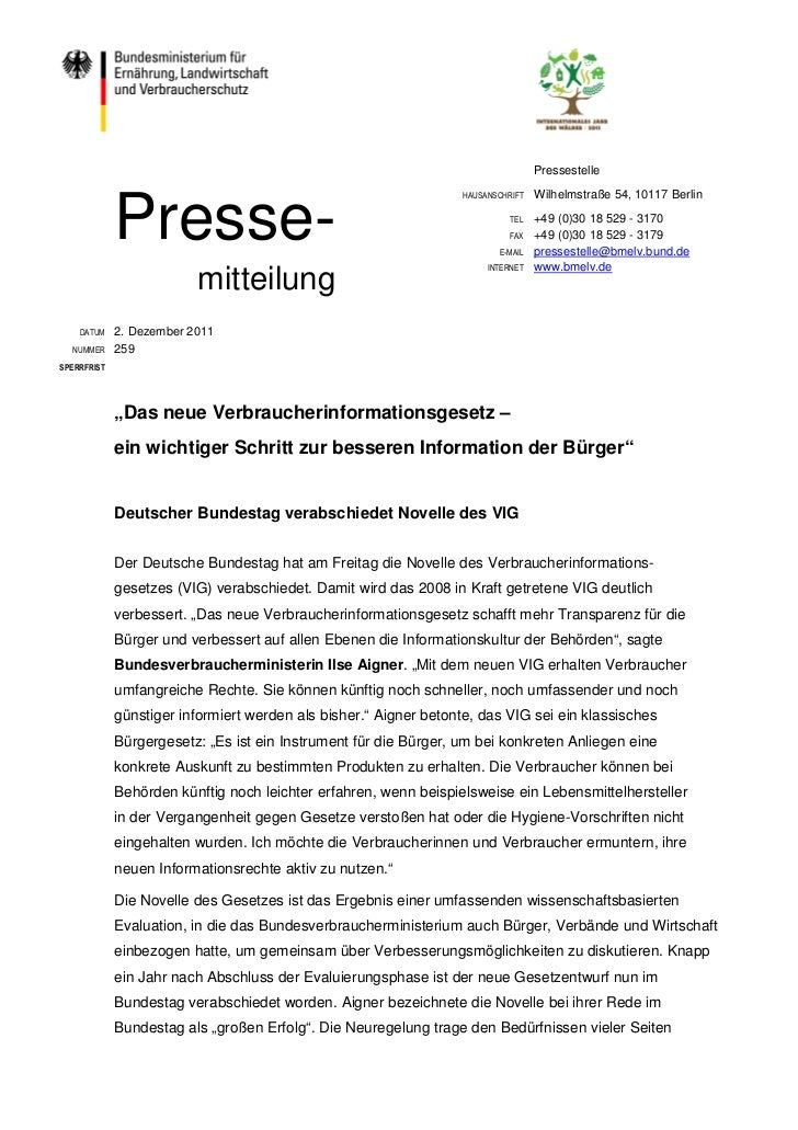 Pressestelle             Presse-                                                                  HAUSANSCHRIFT   Wilhelms...