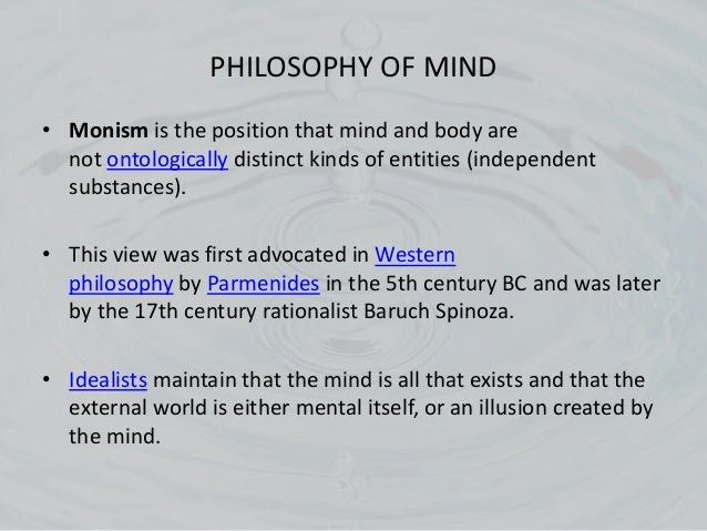 Spinoza's Criticism of Descartes' Substance Dualism Essay