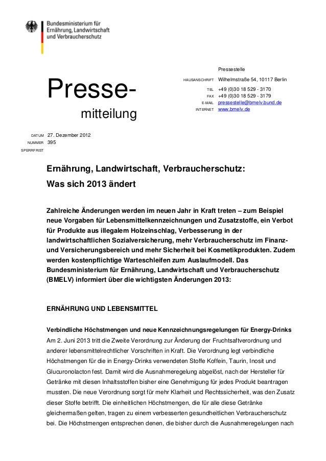 Pressestelle                                                                 HAUSANSCHRIFT   Wilhelmstraße 54, 10117 Berli...