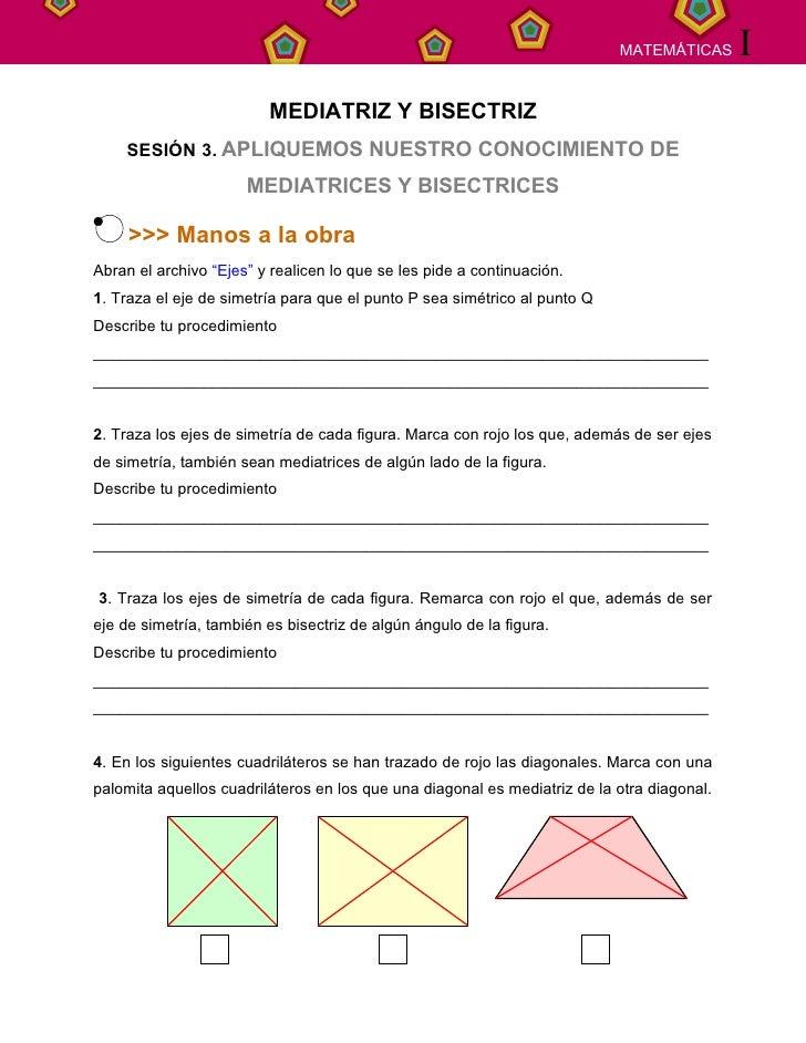 SECUENCIA   12                                                                MATEMÁTICAS      I                          ...