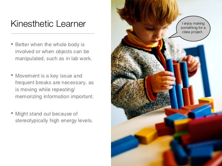 my personality and learning style In addition to influencing personality assessment, jung's dimensions can also be used to assess and describe various learning styles while each dimension represents a unique aspect of a learning style, it is important to remember that your individual learning style may include a combination of these.