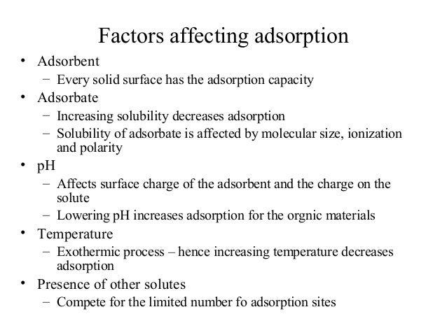 13 adsorption