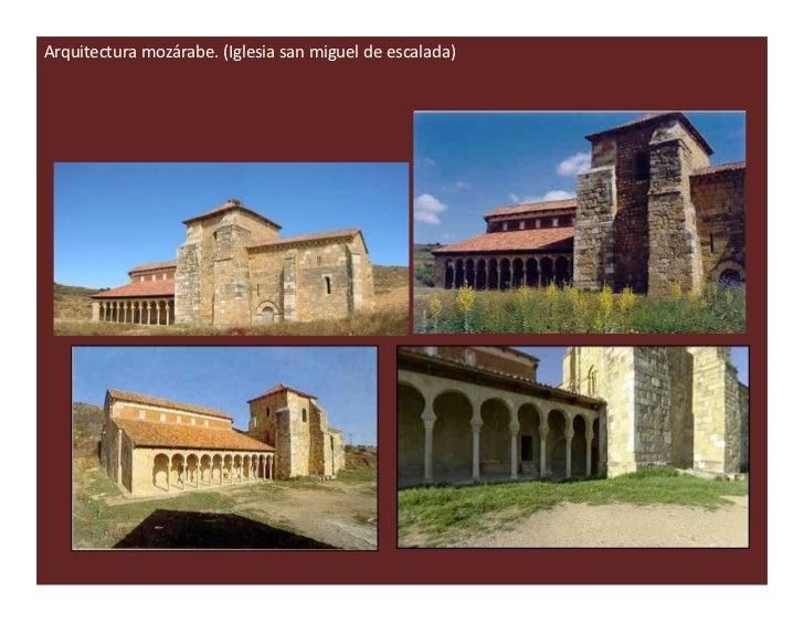 12 arquitectura prerrom nica for Arquitectura mozarabe