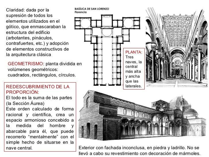 Arquitectura Del Renacimiento Brunelleschi