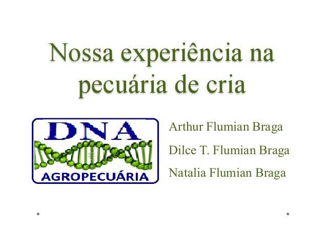 Arthur Flumian BragaDilce T. Flumian BragaNatalia Flumian Braga