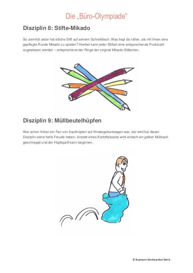 12 Burospiele Lustige Buro Olympiade Ideen