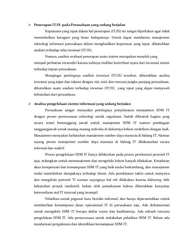 Contoh Executive Summary Laporan Jawkosa