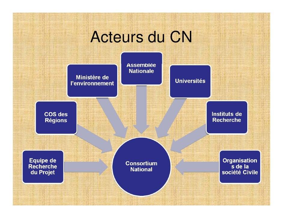 Quelques questions relevées de l'analyse diagnostic pouvant alimenter les discussion du CN  • Quel niveau serait il approp...