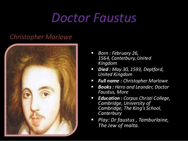 an analysis of the conflicts and solutions described in christopher marlowes dr faustus Figurative language in dr faustus medieval and renaissance values in dr faustus christopher the medieval-renaissance conflict in doctor faustus.