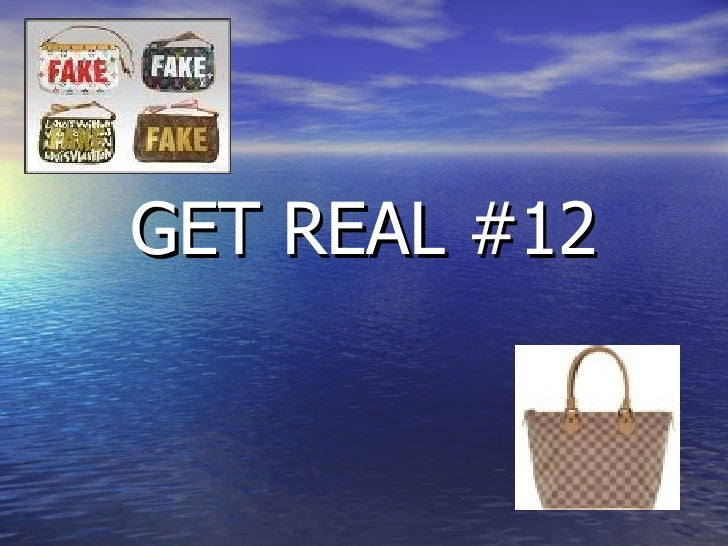 GET REAL #12