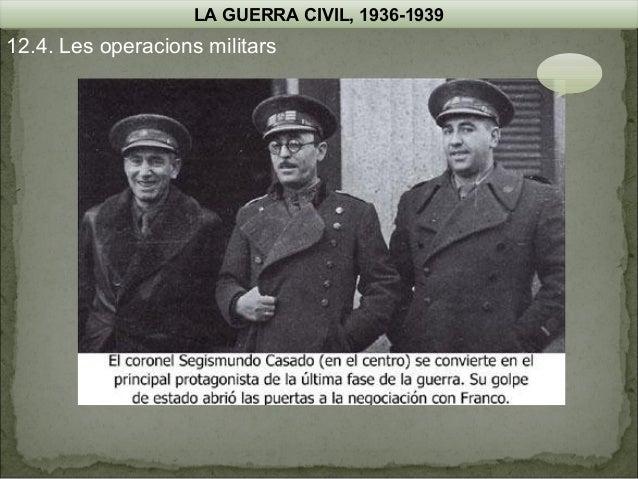 LA GUERRA CIVIL, 1936-1939  12.4. Les operacions militars