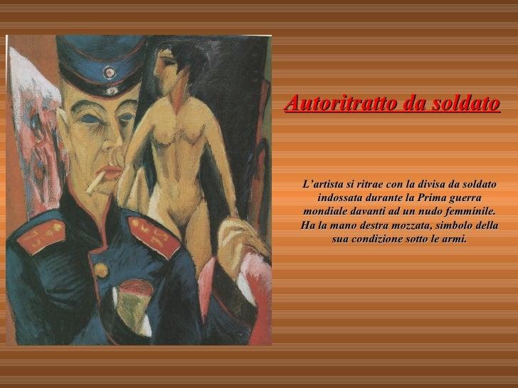 """Risultati immagini per E.L. Kirchner, """"Autoritratto da soldato"""" (1915)]"""