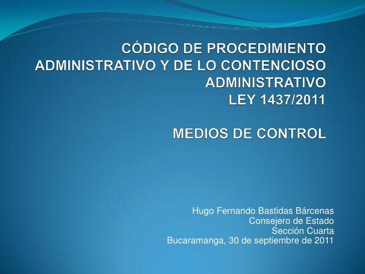 12 medios de-control en el Código Contencioso Administrativo Slide 2
