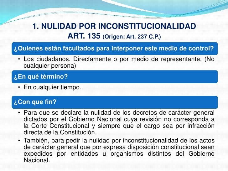 12 medios de-control en el Código Contencioso Administrativo