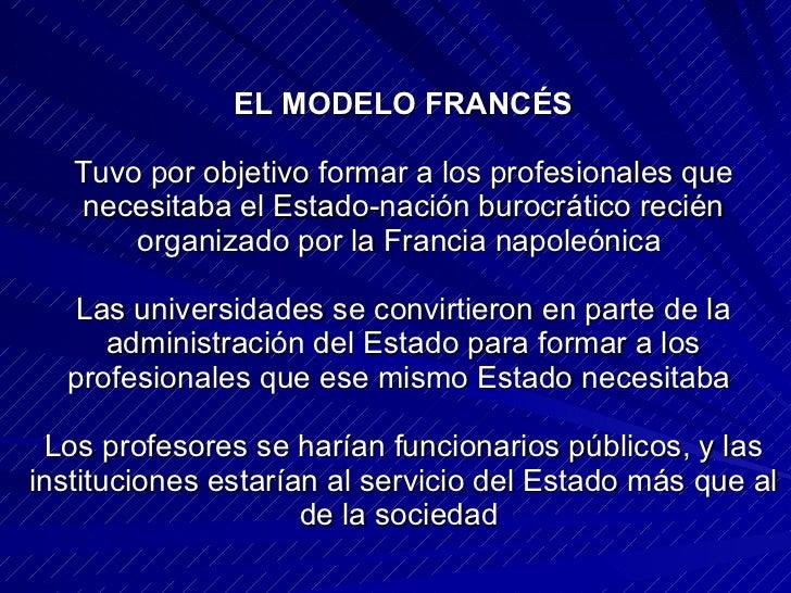 modelos de universidad