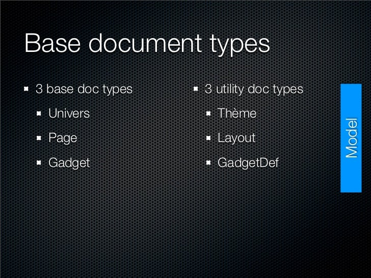 Base document types 3 base doc types   3 utility doc types   Univers            Thème                                     ...