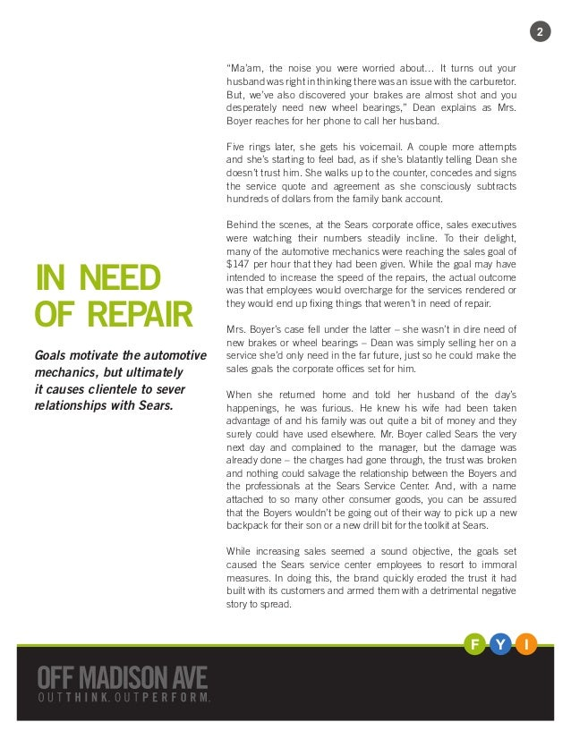 3827a0685 Sustainable success: Avoid setting shortsighted goals